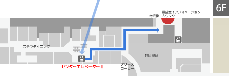 Access guide from Sapporo Station (foot, JR)