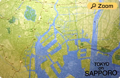 Superimpose thud polo map Superimposed Sapporo Map