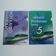 Hokkaido Shinkansen A4 clear file
