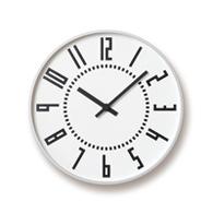 Sapporo Station clock design eki clock (white)